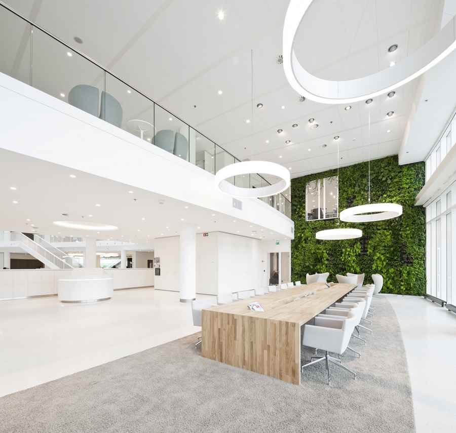 Eneco headquarter rotterdam office building e architect for Kantoor interieur ideeen