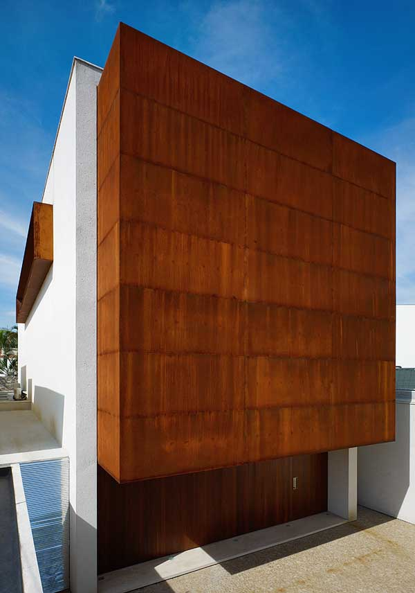 corten house sao paulo home e architect. Black Bedroom Furniture Sets. Home Design Ideas