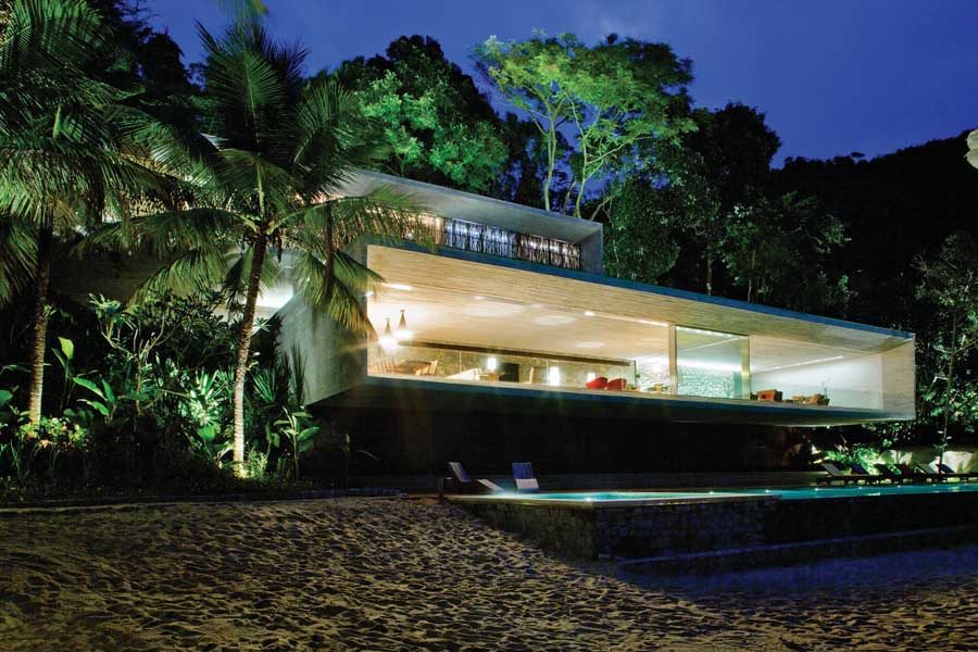 New Houses House Designs E Architect - Remarkable-contemporary-residence-in-the-sao-paulo-city-centre