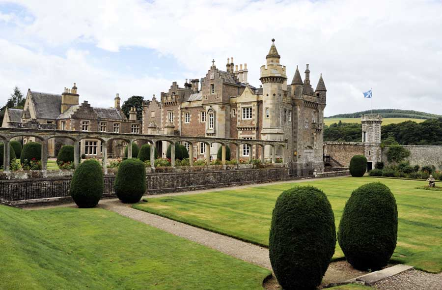 Abbotsford Home Of Sir Walter Scott Abbotsford House