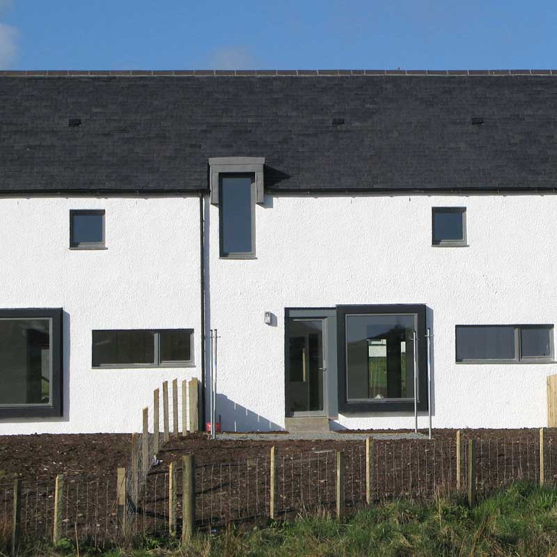 Skye Home - Edinbane Houses, Scotland - e-architect