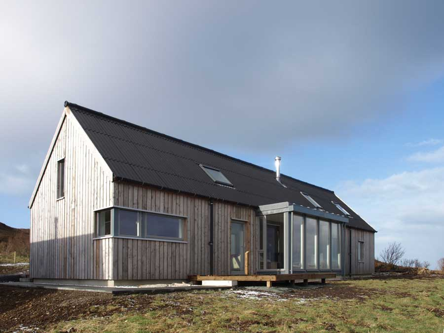 Long house isle of skye property scotland e architect for Rural home plans