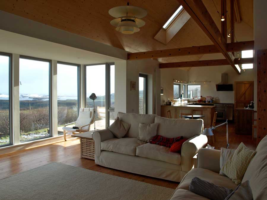 Interior Open Plan Long House Isle Of Skye Country House Ideas Pinterest Interiors Of And Open House