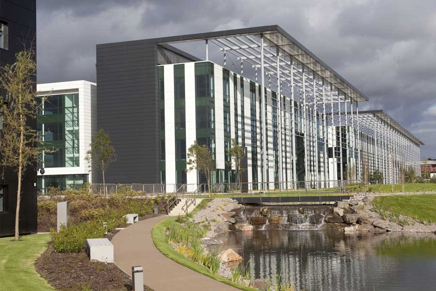Maxim office park scotland motherwell building e for Top uk architects