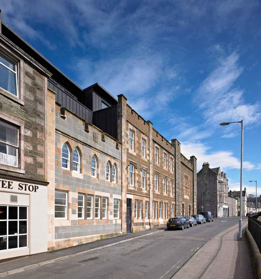House Building Rothesay Bute