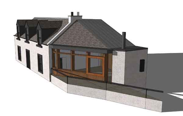 Rural house designs scotland home design and style for Rural design homes