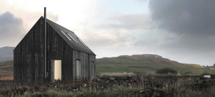R House Rural House Highlands And Islands Property E Architect