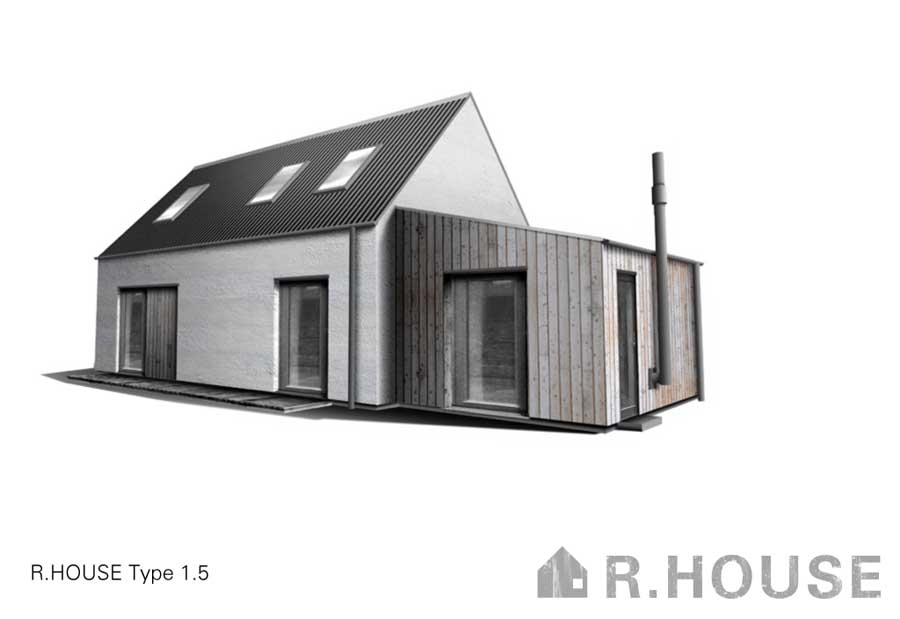 R House r.house, rural house: highlands and islands property - e-architect