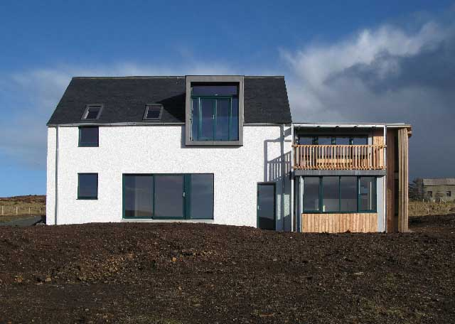 Skye House Western Isles Property E architect