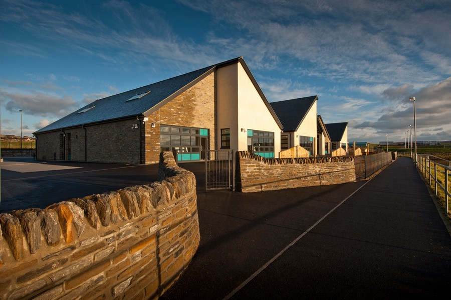 Stromness Primary School - Orkney Education Building - e-architect