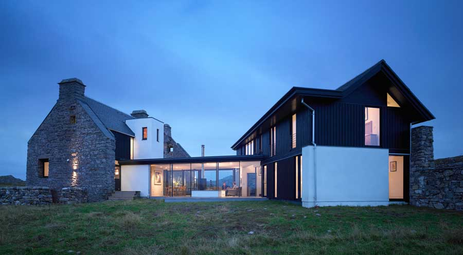 Coll property hebrides house scottish home e architect for Design et architecture