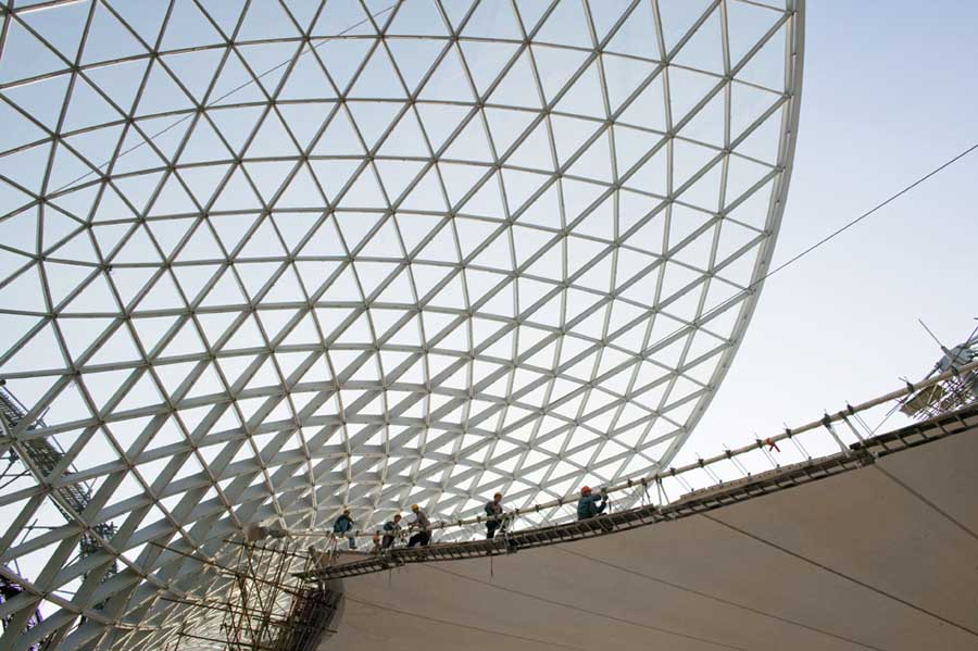 Shanghai Expo Building China Knippers Helbig E Architect