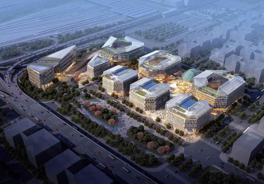 Hongqiao Central Business District  Shanghai Contest