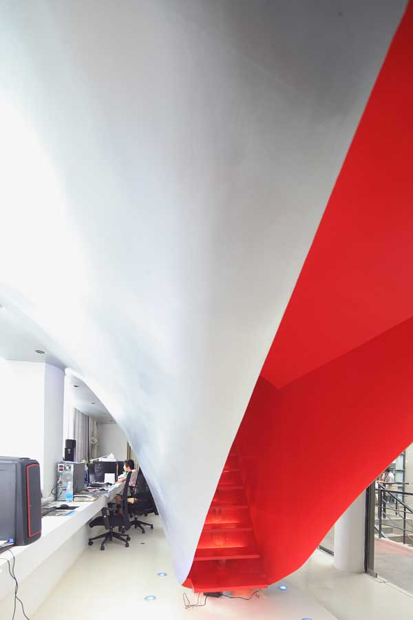 Red Town Sculpture Park Shanghai Office E Architect