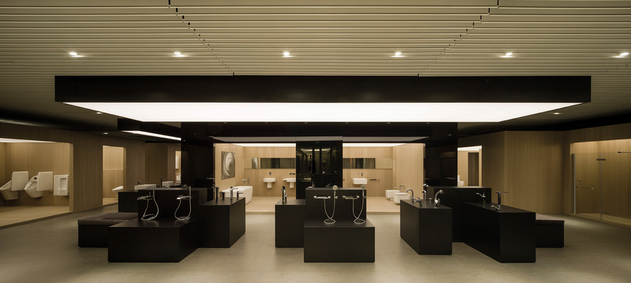 Showroom roca armaniroca materials ctimg ctimg ctimg for Roca showroom