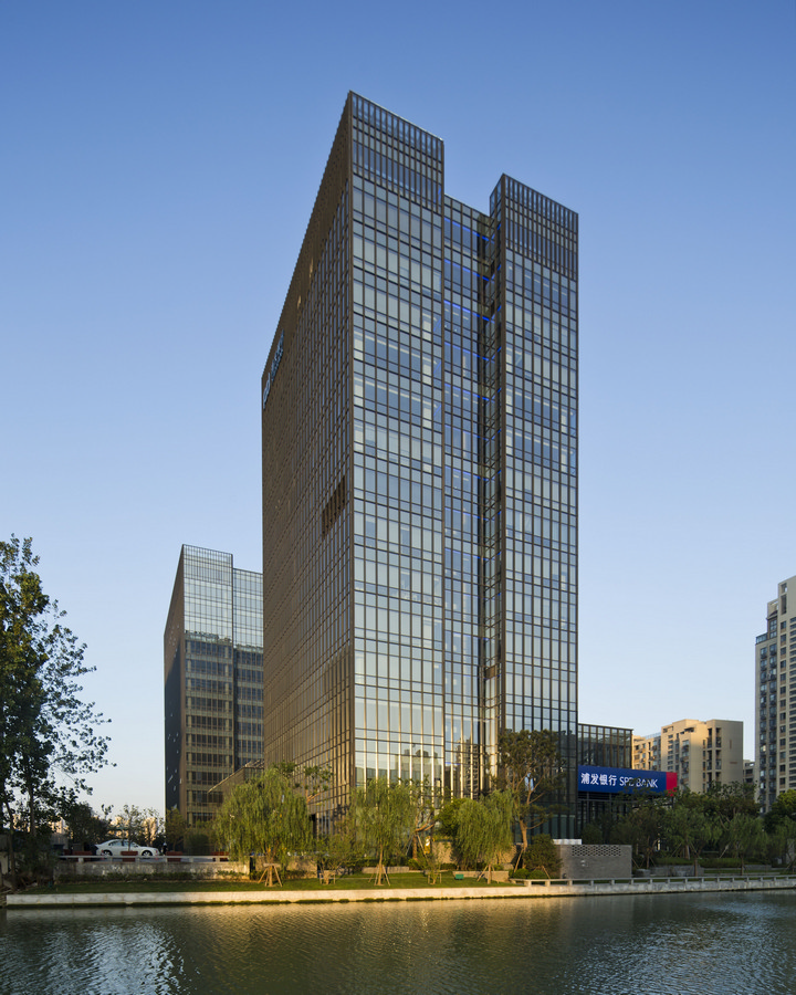 Shanghai pudong development bank suzhou branch e architect for Architecture building design