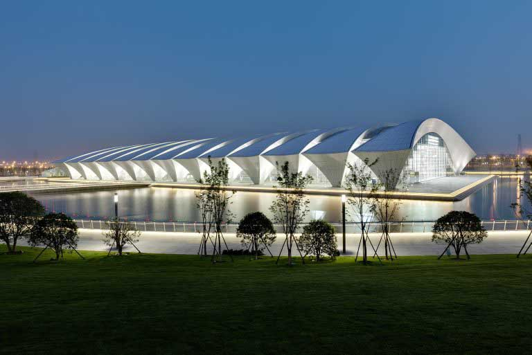Shanghai Oriental Sports Center Building E Architect