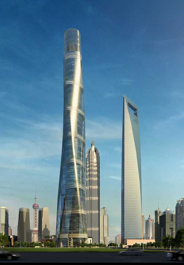 Tallest Building In China Under Construction