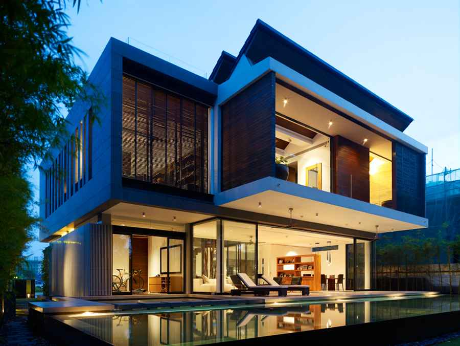 Awe Inspiring New Home Designs Residential Property E Architect Largest Home Design Picture Inspirations Pitcheantrous
