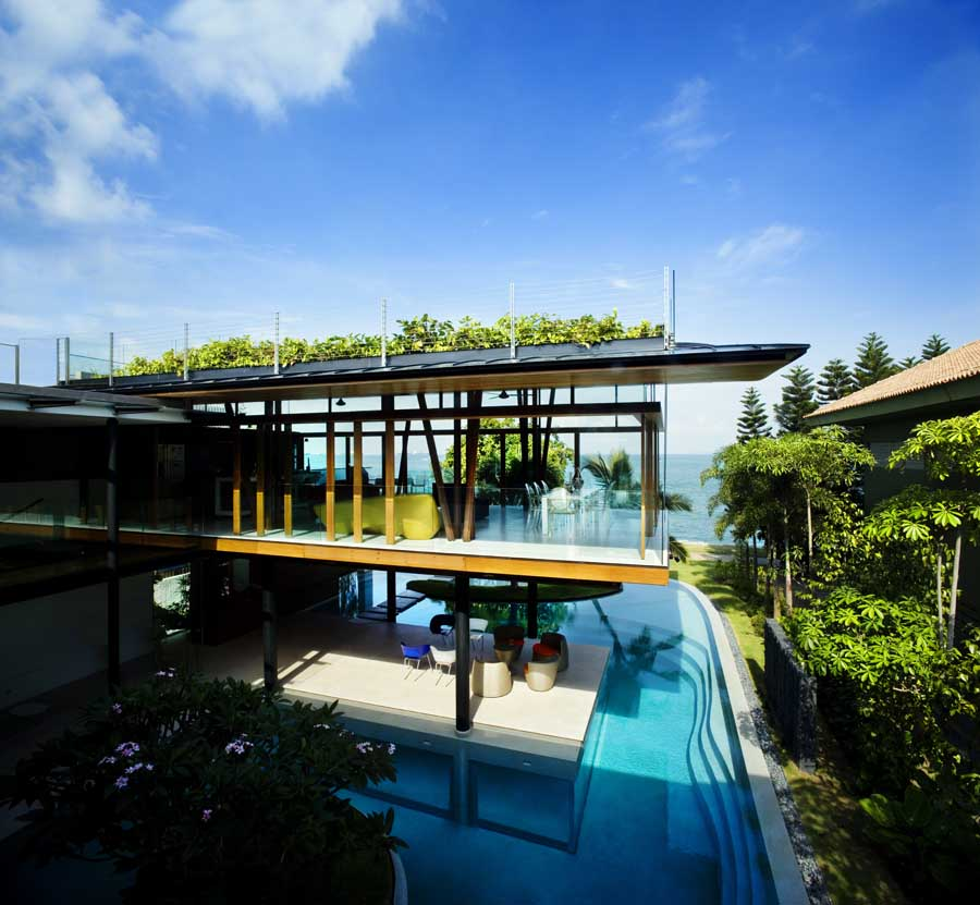Fish house singapore home by guz architects e architect for King s fish house