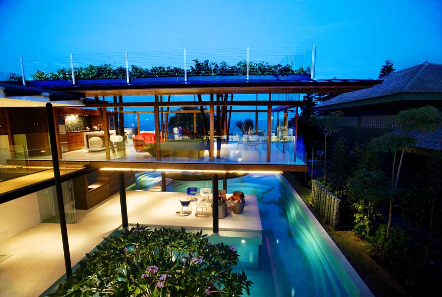 Fish house singapore home by guz architects e architect for Fish house singapore