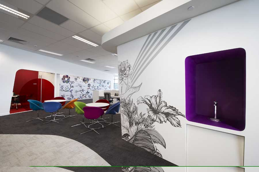 Hsbc fit out singapore south east asian office design e for Design company singapore