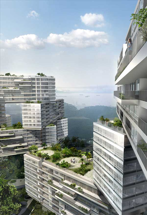 Farrer court singapore residential towers zaha hadid e for Top architects in singapore