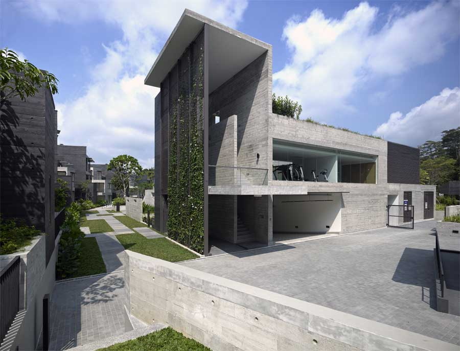 Mont timah cluster housing singapore residential e for Architects for residential homes