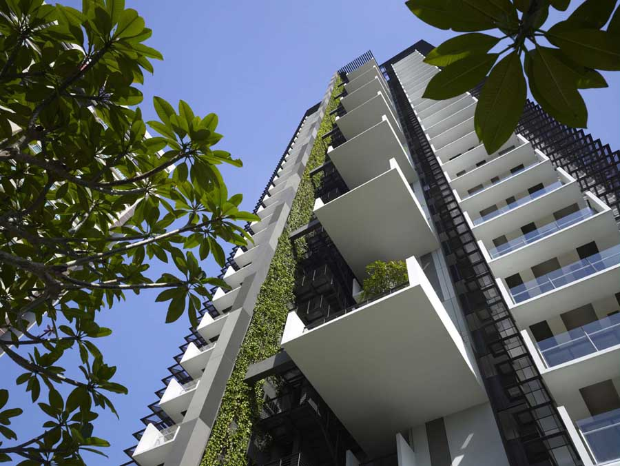 Singapore Apartments – design by WOHA, southeast Asia