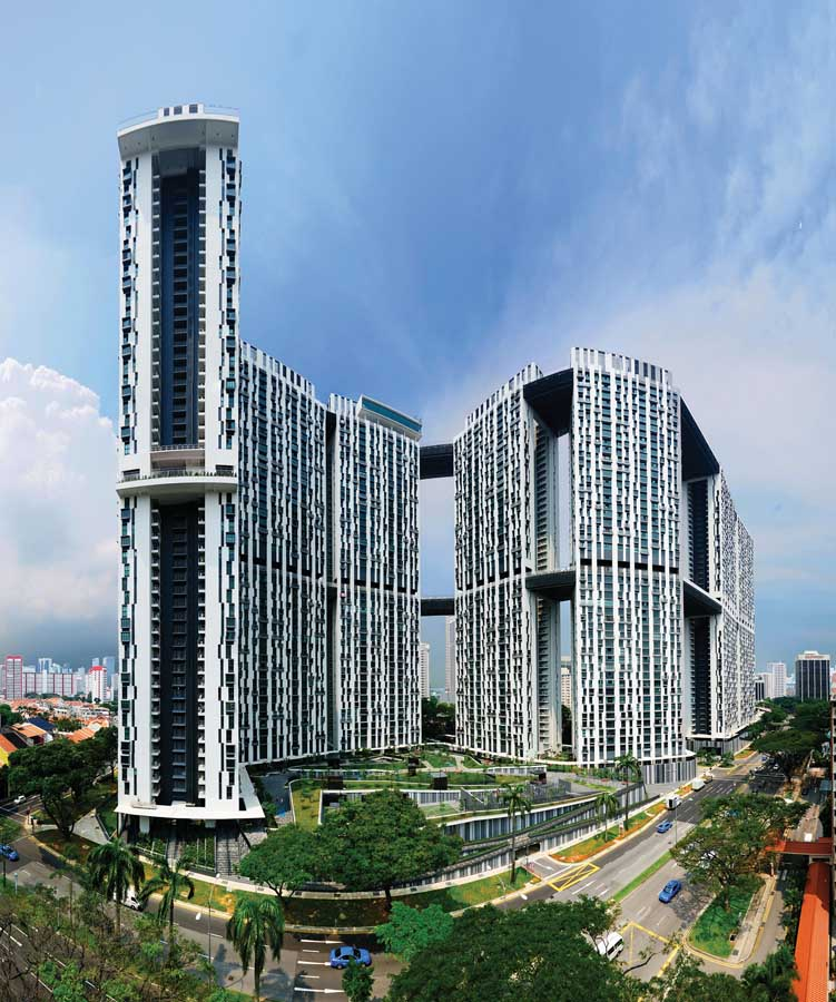 Pinnacle duxton singapore skyscraper building e architect for Top 50 architects in the world