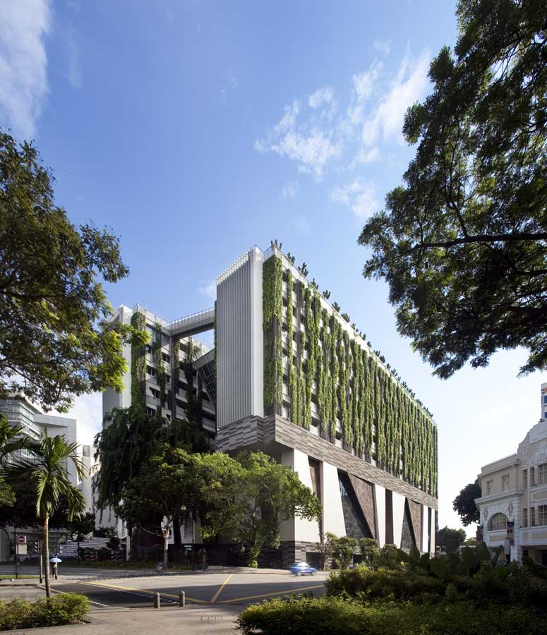 School of the arts singapore woha e architect for Art architectural