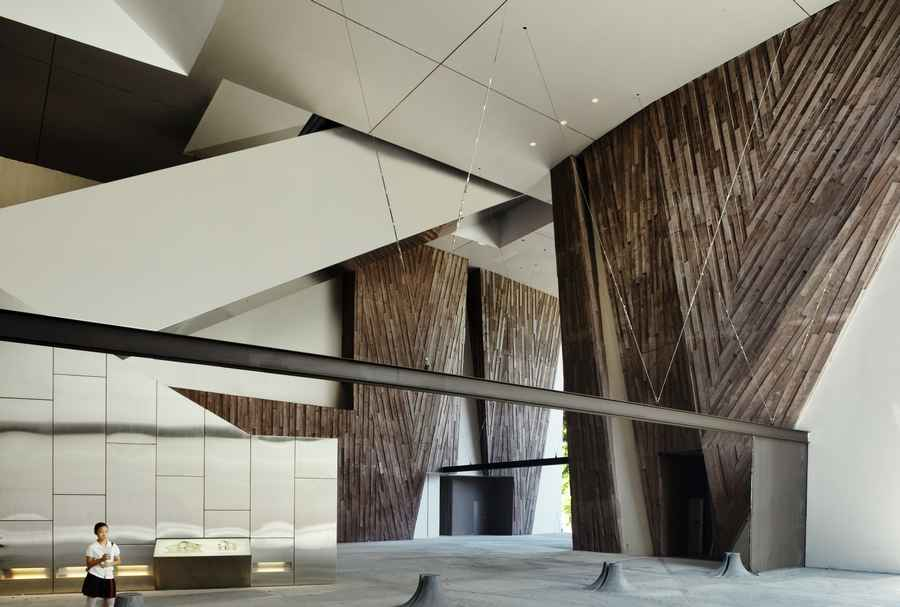 Unique Classroom Design ~ School of the arts singapore woha e architect