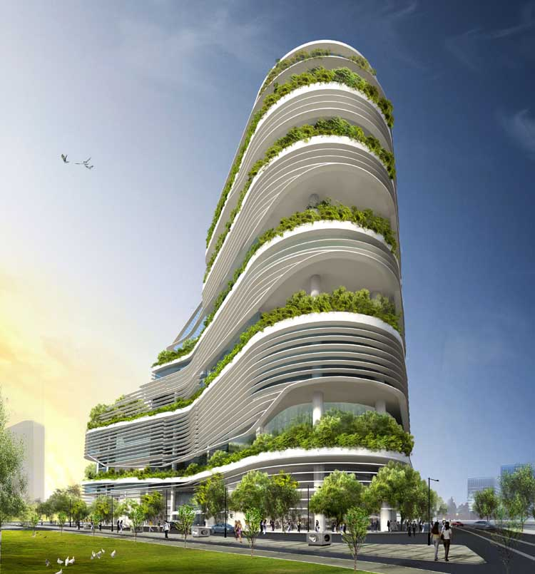 Solaris singapore science centre e architect for Eco building design