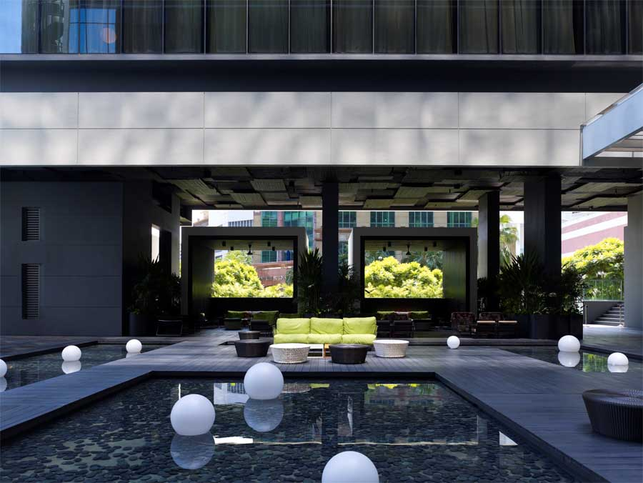 Studio m hotel nanson road building singapore e architect for M design hotel