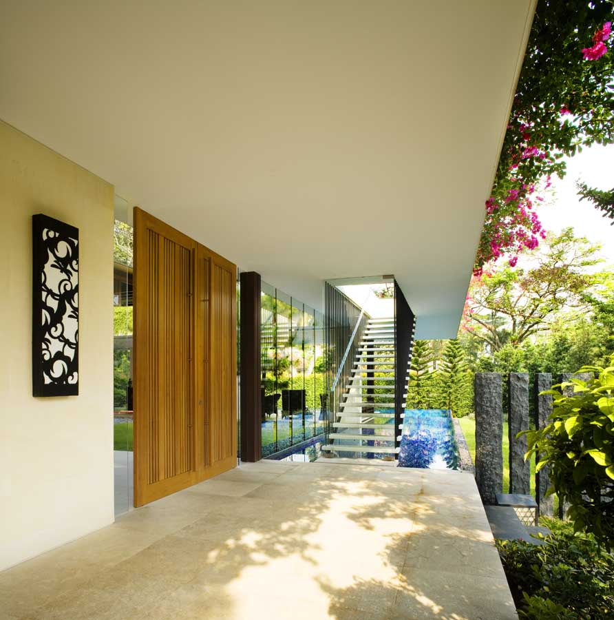 Tangga House Singapore Home Guz Architects E Architect