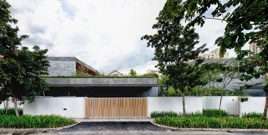Singapore houses residential buildings south east asia - Modern chinese house design ...