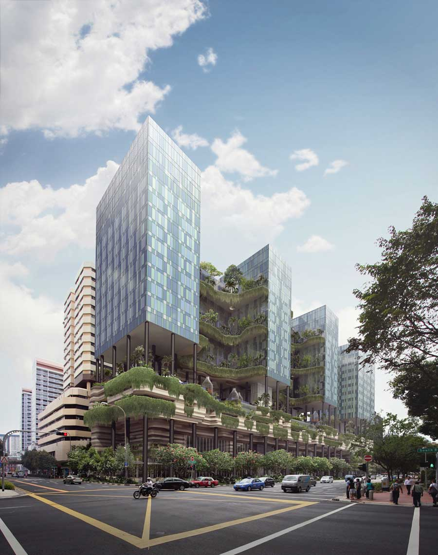 Singapore Building Developments News E Architect