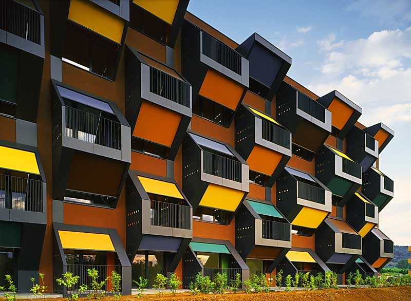 Slovenian architecture slovenia buildings e architect for Apartment design competition