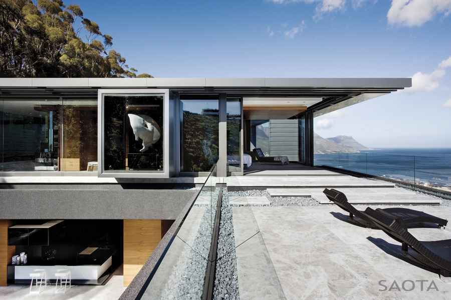 Clifton House Cape Town Property South African Residence - E-architect