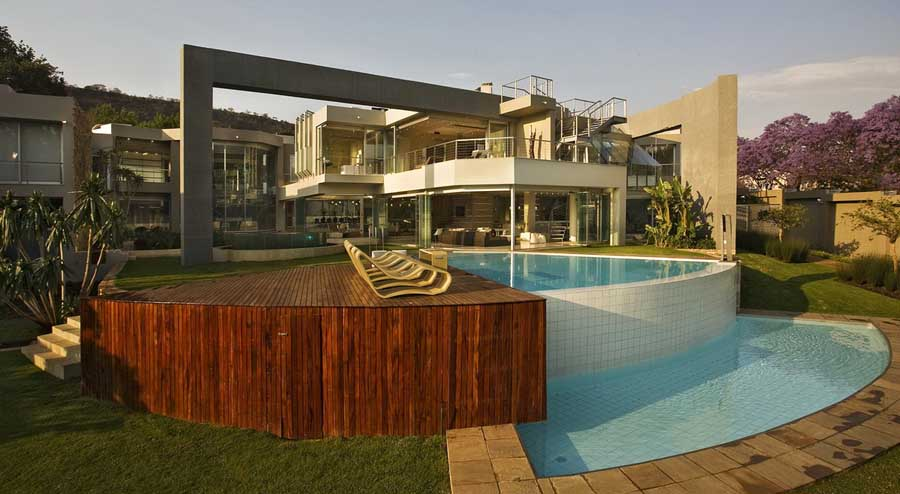 glass house   johannesburg property south africa