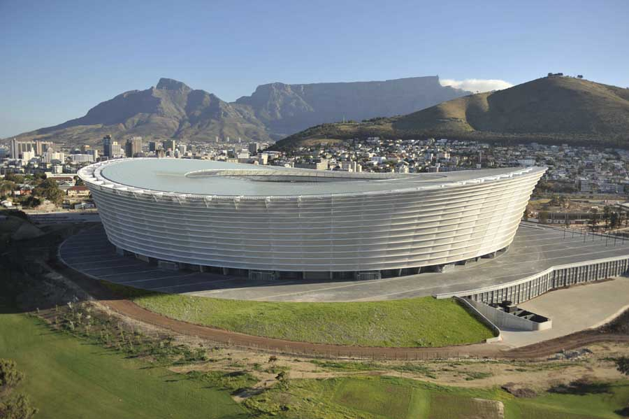 Green Point Stadium - World Cup 2010, Cape Town Arena - e-architect