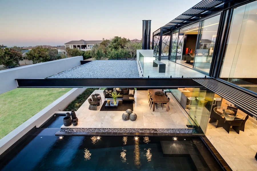 House In Midrand South Africa Property Earchitect - Ber house in south africa