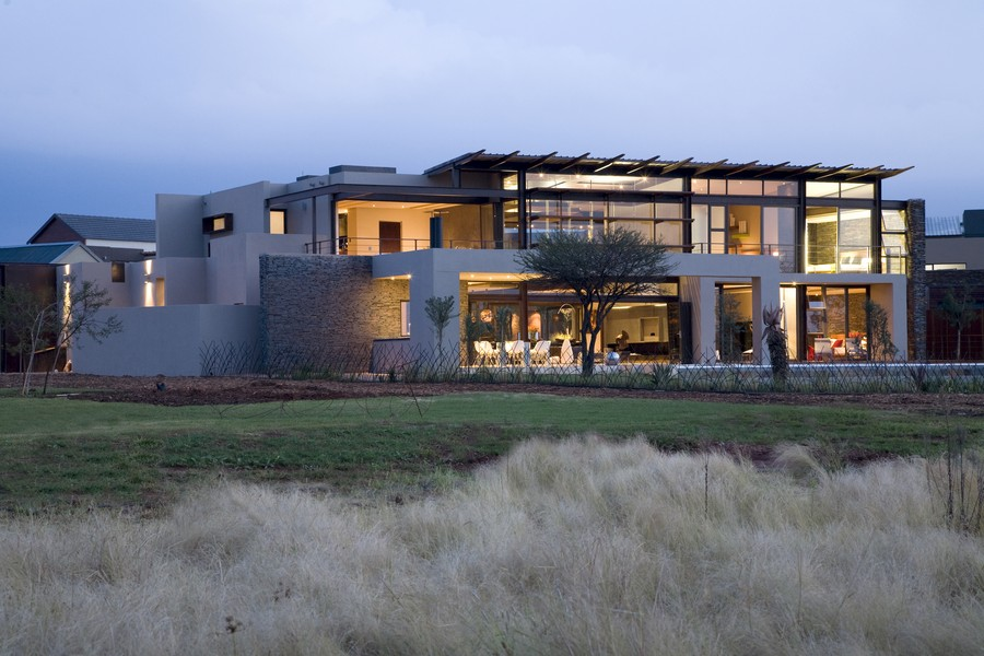 Serengeti house south africa residence e architect for South african modern house plans