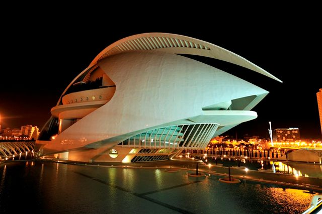City of Arts and Science, Valencia, Spain: Calatrava Building - e-architect