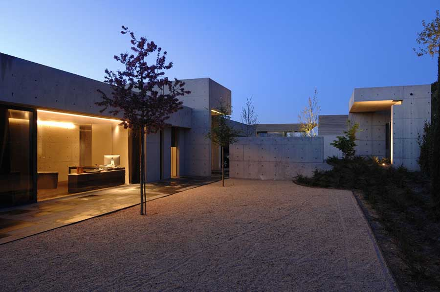 Concrete house contemporary spanish home e architect Concrete home plans
