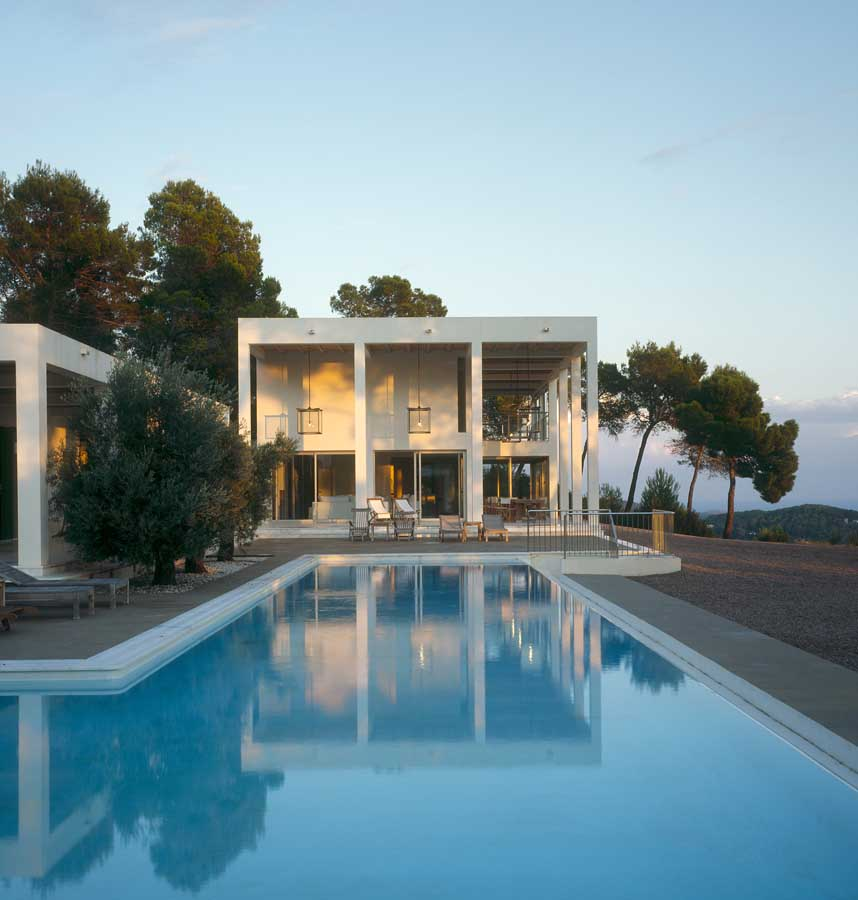 Residence by DeBlacam & Meagher in Ibiza, Balearic Islands, Spain