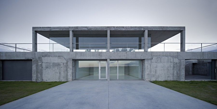 Rufo house toledo building spanish house design e - Campo baeza obras ...