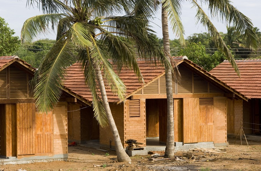 Post Tsunami Housing Sri Lanka Residences E Architect