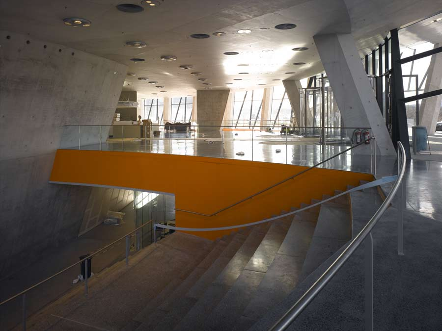 Mercedes Benz Museum Foyer : Mercedes museum stuttgart unstudio e architect