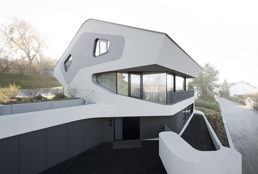 German Houses Residential Buildings In Germany E Architect - Two-storey-single-family-residence-by-baan-design